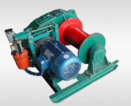 Vertical Lifting Industrial Electric Winch , 1000kg High Speed Electric Winch